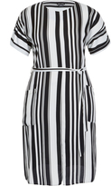 City Chic Sexy Stripe Dress