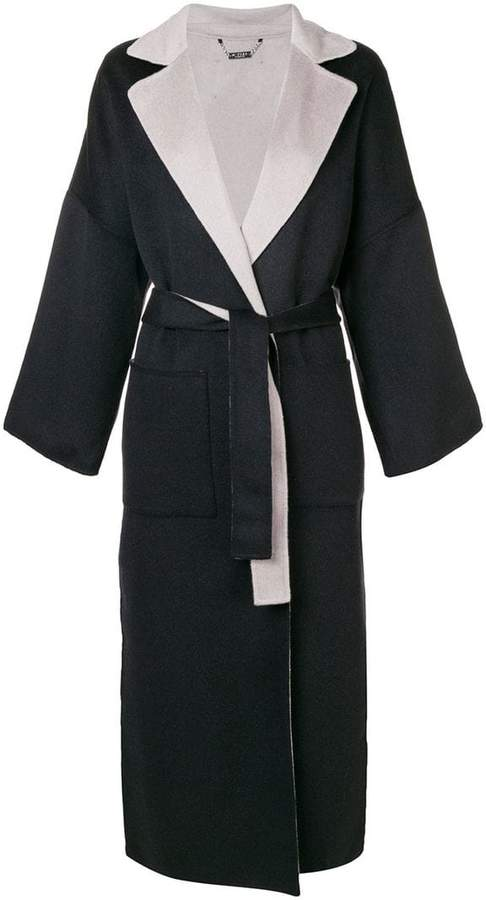 N.Peal double sided oversized coat