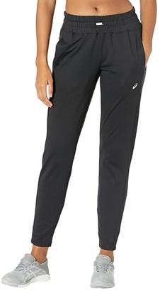 Asics Thermopolis Fleece Taper Pant (Black) Women's Casual Pants