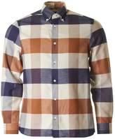 Aquascutum Rigby Flannel Mega Club Check Shirt