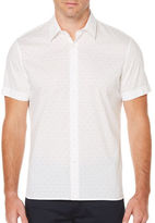 Perry Ellis Big And Tall Dot Sport Shirt