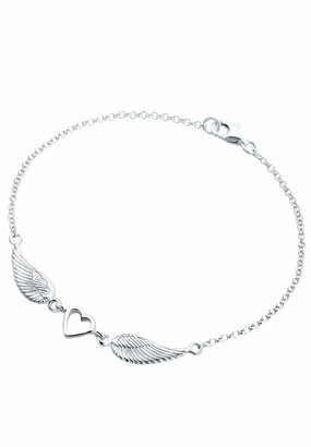 Elli Women's Silver Xilion Cut Bracelet Length of 45 cm