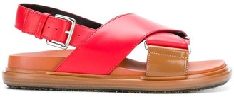 Marni Crisscross Sandals