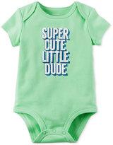 Carter's Super Cute Little Dude Cotton Bodysuit, Baby Boys (0-24 months)