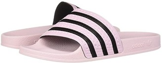 adidas Adilette Slide (Clear Pink/Clear Pink/Core Black) Women's Slide Shoes