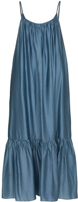 Missing You Already Oversized Peplum Hem Dress
