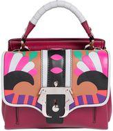 Paula Cademartori Dun Dun Leather Shoulder Bag