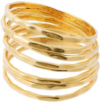 Amadeus Nudo Gold Stacking Rings