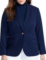 Lauren Ralph Lauren Plus Stretch-Twill Jacket