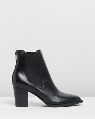 Mollini Luvar Leather Ankle Boots