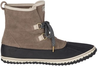 Sperry Schooner Slouch Lace-Up Boots