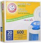 Munchkin Arm & Hammer Diaper Pail Snap, Seal and Toss Refill Bags