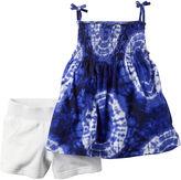 Carter's 2-pc. Tie-Dye Tank Top and Shorts Set - Baby Girls newborn-24m