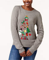 Karen Scott Petite Holiday Tree Sweater, Created for Macy's