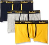 Reebok Men's 3 Pack Stretch Trunk