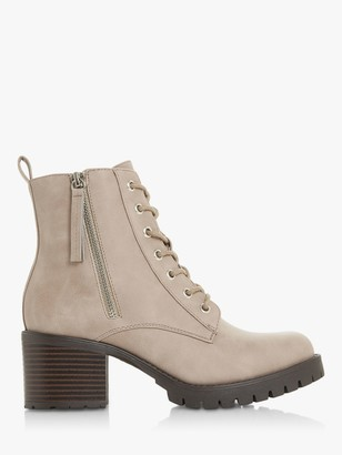Head Over Heels Purdii Lace Up Biker Boots