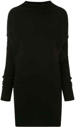 Rick Owens High-Neck Long Jumper