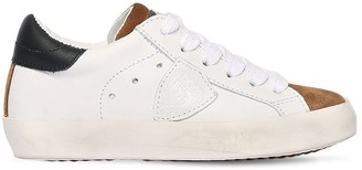 Philippe Model Leather & Suede Sneakers