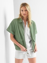 Gap Short sleeve utility jacket