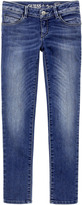 GUESS Ultra skinny fit stone-washed blue jeans