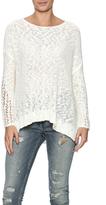 Lush Ivory Oversized Sweater