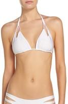 Luli Fama Women's Reversible Triangle Bikini Top