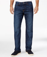 Tommy Hilfiger Men's Drake Relaxed-Fit Dark Blue Wash Jeans