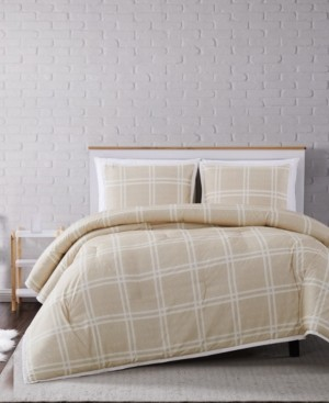 Truly Soft Leon Plaid Full/Queen Comforter Set Bedding
