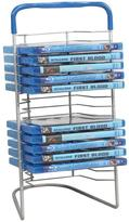 Atlantic 16 Blu-Ray Nestable Silver Media Storage Tower