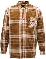 Regatta Great Outdoors Mens Heritage Lumbar Fleece Lined Checked Shirt (L)