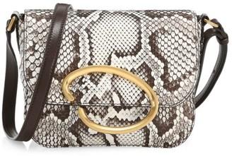 Oscar de la Renta Oath Python Crossbody Bag