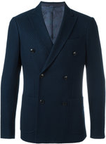 Etro double-breasted blazer - men - Silk/Cotton/Cupro - 48