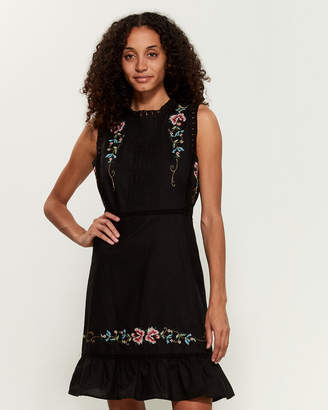 Stellah Embroidered Apron Frock