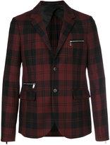 Valentino tartan jacket - men - Cupro/Wool - 46