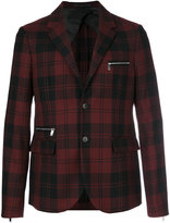 Valentino tartan jacket - men - Cupro/Wool - 50