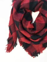 Blanket Scarf - Buffalo Plaid