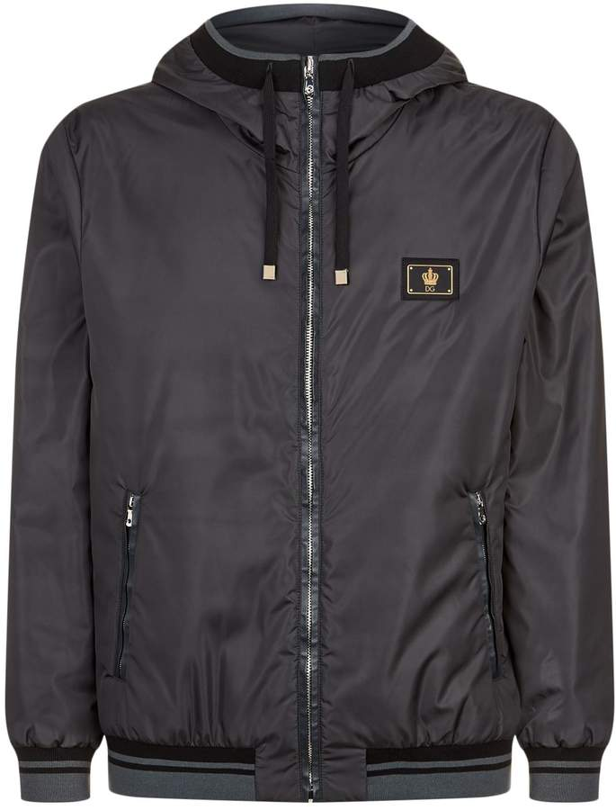 Dolce & Gabbana Hooded Windbreaker