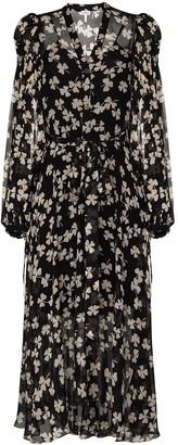 Loewe Clover print dress