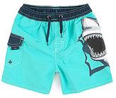 First Wave 2T-7 Shark Applique Swim Trunks