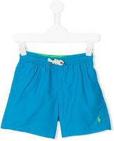 Ralph Lauren logo embroidered swim shorts