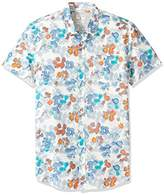 Quiksilver Men's Only Flowers Button Down Shirt