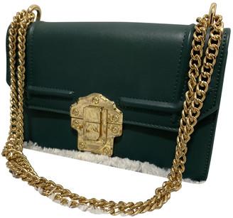 Silvian Heach Green Patent leather Handbags
