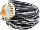 BOAZ KASHI Opal Wire Wrap Ring