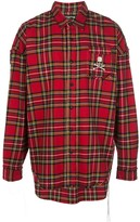 Mastermind World tartan check shirt