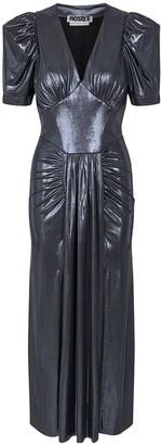 Rotate by Birger Christensen Alma Stretch Jersey Midi Dress