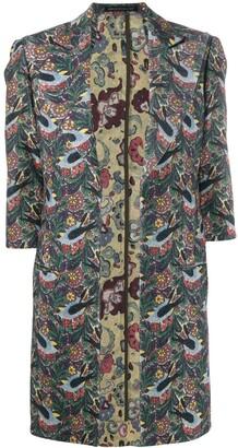 Yohji Yamamoto Pre-Owned 1990's Floral Coat