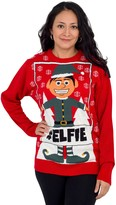Ugly Sweater Company Ugly Christmas Sweater Hashtag Elfie Sweater