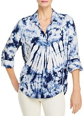 Aqua Riley Tie Dye Shirt - 100% Exclusive