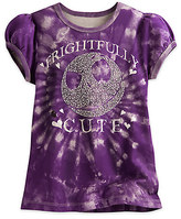Disney Jack Skellington Tie Dye Tee for Girls