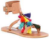 Steve Madden Colorful Tassel Sandals